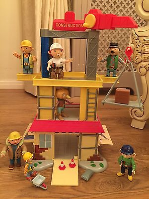 Bob The Builder Construction House And Figurines