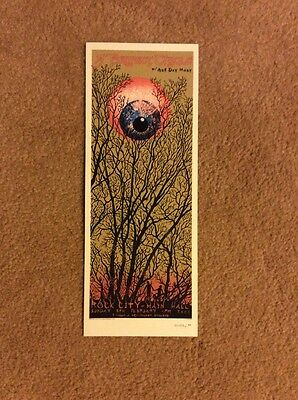 Rare Emek Handbill Perfect Circle At Rock City Nottingham England Signed 2004