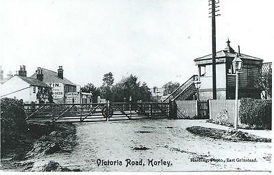 Photo Of Horley's Level Crossing In Victoria Road