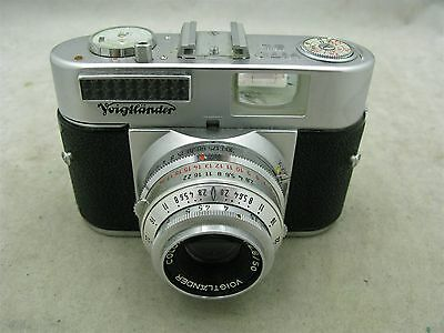 Voigtlander Vito BL (1956) 35mm Camera with Case