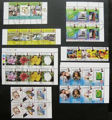 Brunei 2002 to 2004: Collection of 7 Mint Stamp Sets