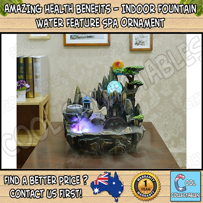 AMAZING Health Benefits - Indoor Fountain Water Feature Spa Ornament Home Decor