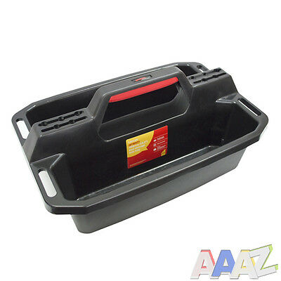 """Rugged Plastic Tool Storage Tote Tray 19.5"""" Pro"""