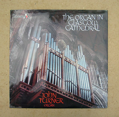 'The Organ In Glasgow Cathedral' - John Turner - Decca / Ace Of Diamonds - 1973.