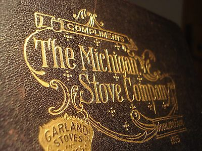 1893 Columbian Exposition, Chicago Guide, The Michigan Stove co. Garland