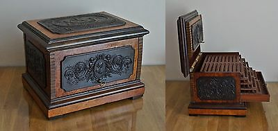 Important Paul Sormani  Cigar Box Scatola Sigari  Parigi 1860 Boite A' Cigar