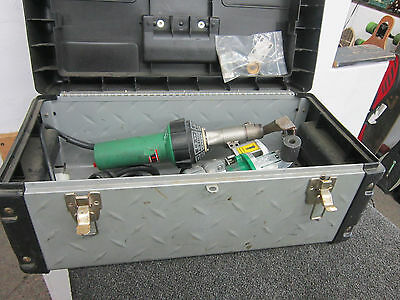 Leister Triac Drive CH-6060 With Leister Hot Air Blower Tric S
