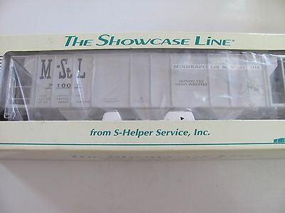 S-Helper Service 3 Bay Hopper Car M&STL #00417 MIB