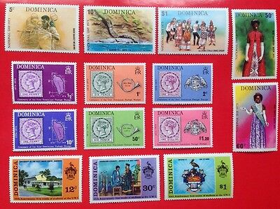 COMMONWEALTH -1973/74 DOMINICA MMINT (3) Stamps/Sets***(3)
