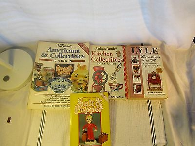 Lot Of 4 Vintage & Antique Collectibles Reference Books