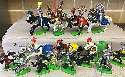 Britains Vintage Knights / Turks / Horses & Weapons
