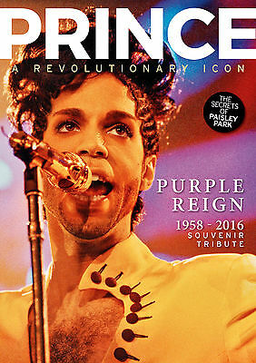 Prince: Purple Reign 1958-2016 - A Souvenir Tribute- Mirror Collection XMAS GIFT