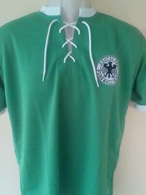 BRAND NEW, NO TAG 1954 West Germany retro football shirt, size M adult