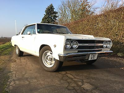 Chevrolet Chevelle Malibu SS 1965 classic muscle car amazing condition , 327 V8