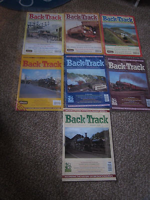 Back Track magazines.......Seven Issues