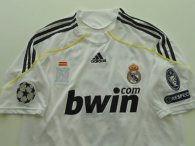 Camiseta Real Madrid shirt 2009 2010 Nº9 Ronaldo jersey M