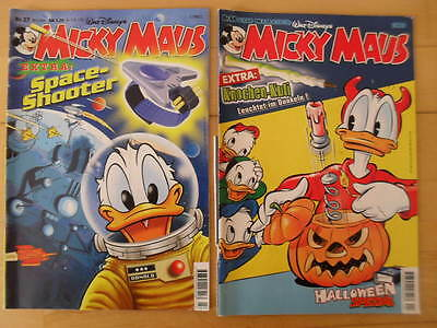 Micky Maus  Comic Nr.27 und Nr.44  Jahrgang 2000   Donald Duck