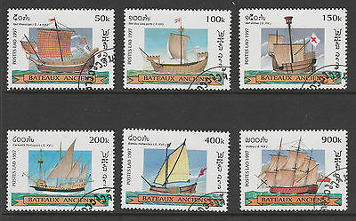Stamps Depicting The Development Of Boats/ships