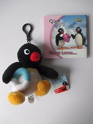 Ex.Cond. 5 inch tall Soft Toy Pingu Loves Penguin Books Ltd Hardback 2005 NEW