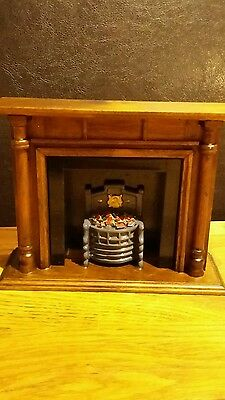 Dolls house fire place scale 24