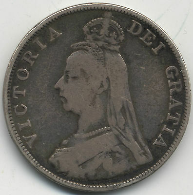 1889 Victoria Silver Double Florin***Collectors***
