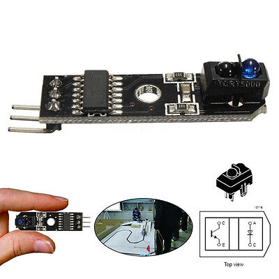 5V IR Obstacle Avoidance Tracking Sensor Infrared PCB Module Arduino Robot EPCA