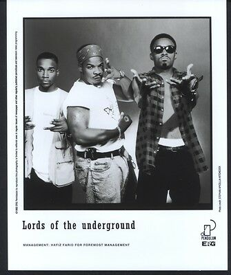 1993 Lords Of The Underground Mr Funky Pendulum Records Publicity Press Photo