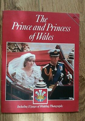 Lady Diana .Princess Diana. In this  The Prince And Princess Of Wales Souvenir