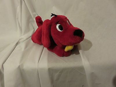 "13""  cute soft barking whining shaking clifford the big red dog plush doll"