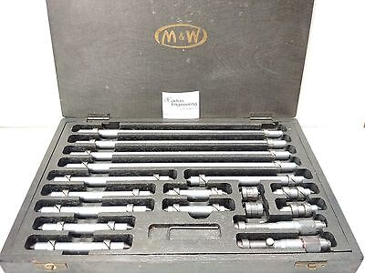 Moore & Wright Imperial Internal Micrometer bar set.