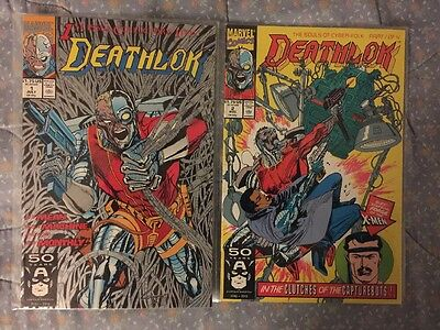 Marvel DEATHLOK Lot # 1 - 2 1991 Collection