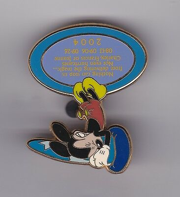 DISNEY PIN PINS MICKEY Says THANK YOU FOR HELPING W/HURRICANES  WDW