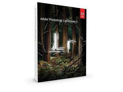 ADOBE PHOTOSHOP LIGHTROOM 5 5.7.1  PC/MAC - For 2 computers