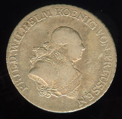 1790 Prussia Silver 1/3 Thaler