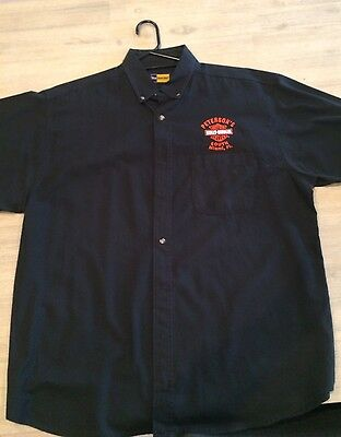 Men's Harley Davidson Black Staff Shirt - Florida - Size XL