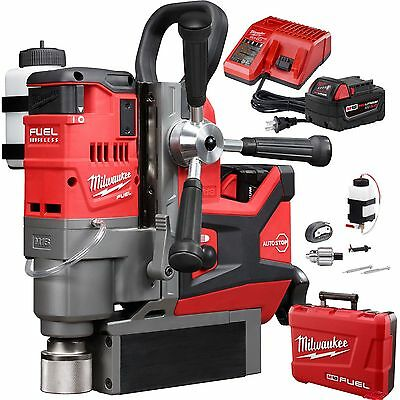 """M18 FUEL 1-1/2"""" Magnetic Drill Kit Open Box Milwaukee 2787-22"""