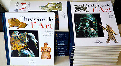L'histoir de L'Art Encyclopédie Larousse 25 volumes