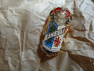 NOS Vintage Cinelli Bicycle Head Tube Badge Vintage Restoration Rebuild SE8