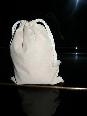 Calico bags with Drawstring ( bulk)  10 ,20,30,40,50,100,( 20 cm x 15 cm)