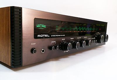 ROTEL RX-402 Stereo Receiver Amplifier  - Matrix Quadraphonic - FREE UK DELIVERY