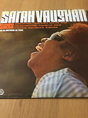 Sarah Vaughan - Sings With The Hollywood All Stars - Vinyl Lp Record
