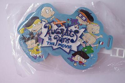 Rugrats In Paris The Movie Luggage Tag Nickelodeon 2000