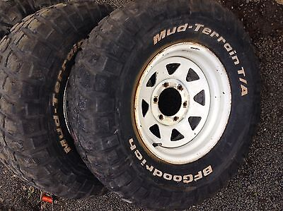Tyres And Rims 31x15x10.5