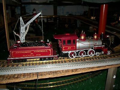 Bachmann  Electric Train Locomotive & Tender  G Scale- Running Sounds