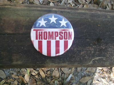 Fred Thompson 2008 Campaign Button