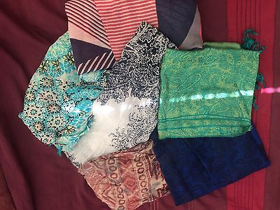 Ladies Assorted Scarves New