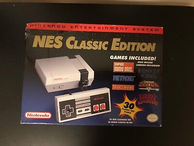 New NES Classic Edition Nintendo Mini Console with 30 Games