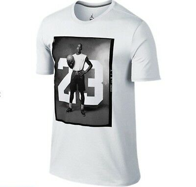 Jordan '88 Photo Dri-FIT Cotton T-Shirt White Size 2XL *New with Tag*