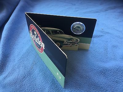2016 Holden Heritage Coloured Uncirculated 50c Coin FJ