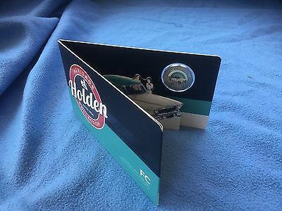 2016 Holden Heritage Coloured Uncirculated 50c Coin FC